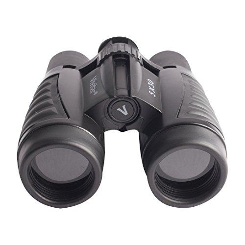 Vivitar CS-530 - Binoculares (259g, 133,3 x 184,1 x 5,08 mm) Negro, Gris