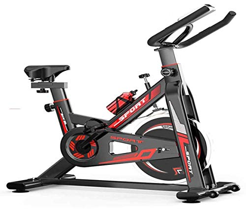 Spinning Exercise Bike Cycling Stationary Comfortable Seat Cushion Bikes for Home Black