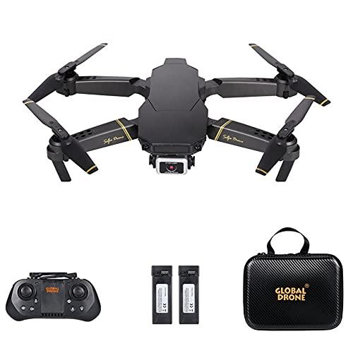Goolsky RC Drone con videocamera 4K Modalit flusso ottico Doppia videocamera Auto Evita ostacolo Volo Sensore di gravit Modalit senza testa Flip 3D Quadricottero RC per adulti Bambini
