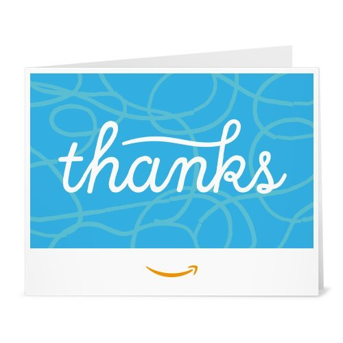 Amazon Gift Card - Print - Thank you (Whimsical)