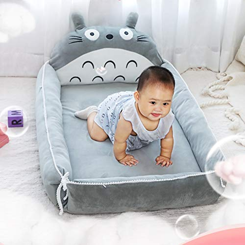 Product Image 4: VIVITG Cartoon Totoro Baby Bed Stuffed Sofa Infant Chair Plush Cute Anime Sofa Bed, for Kids Baby Play Mat Floor Mat, 906035cm