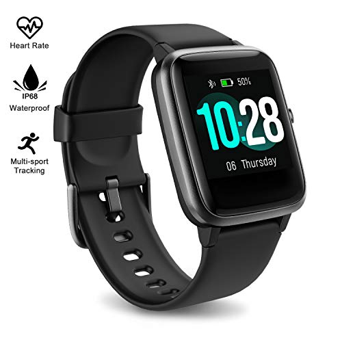Fitpolo Fitness Tracker Watch with Heart Rate and Sleep Monitor - Activity Tracker Waterproof Smart Wristband Watch, Step Calorie Counter, Pedometer Android iOS Compatible for Women Men Kids