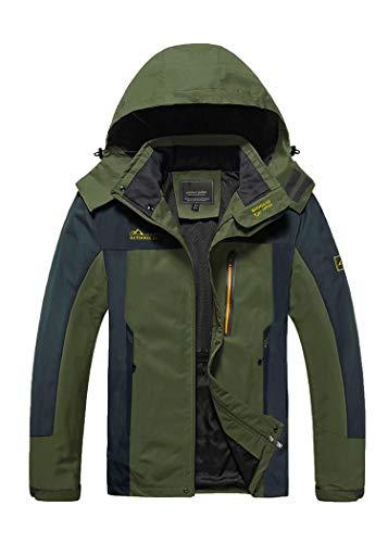 Mens Windbreaker Jackets Rain Jacket Mens Lightweight Jacket Waterproof Jackets For Men Fishing...