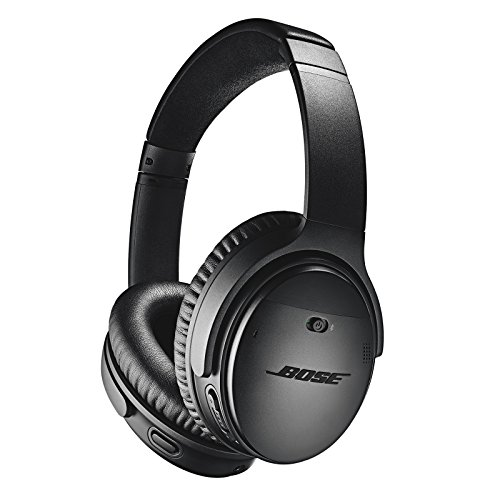 Bose QuietComfort 35 II Wireless Bluetooth Headphones, Noise-Cancelling, with Alexa Voice Control - Black (Electronics)