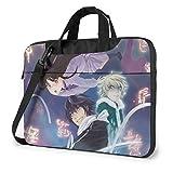 XCNGG Noragami Anime Laptop Hombro Messenger Bag Tablet Computadora Almacenamiento Mochila Bolso 13 Pulgadas