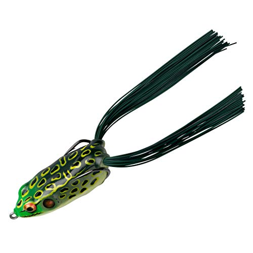 Booyah Bait Company Pad Crasher Fishing Lure, Bull Frog, Booyah Pad Crasher Bullfrog 2 1/2 In