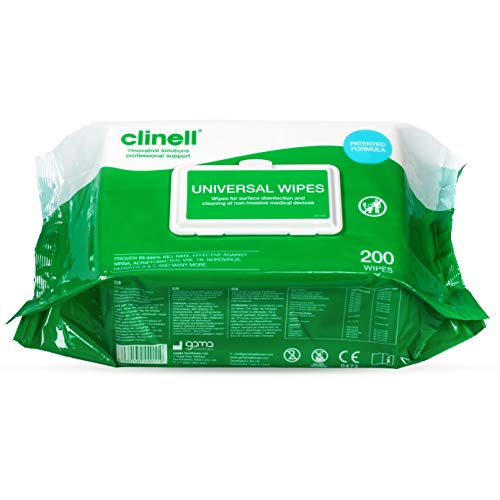 Clinell - gcw200 universal Sanitizing Wipes (200 units)