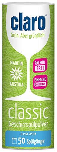 Claro Classic Detersivo Polvere Lavastoviglie Concentrato - 900gr - Detergente Ecologico Senza...