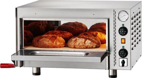 PBO-1 Tisch Schamotte Brotbackofen