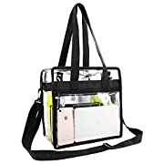 STADIUM APPROVED- Clear bags meets Stadium Tournament guidelines for 12x12x6 clear Purse. Approved to be used where regulations require clear bags such as football games, work,school security regulations, casinos, events, parks, and college stadiums....