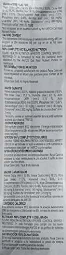 Product Image 9: Royal Canin Appetite Control Spayed/Neutered 7+ Dry Adult Cat Food, 6 lb. bag
