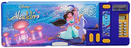 Astuccio Bambini Disney 3 Scomparti Con Aladdin e Jasmine | Idea Regalo Per Bambina Prodotto...