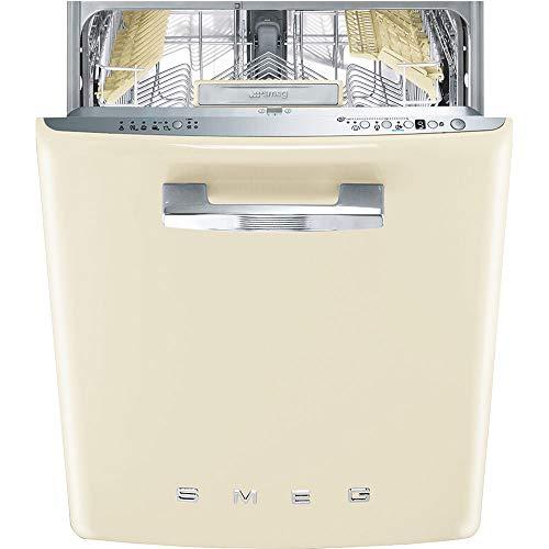 Smeg ST2FABCR lavastoviglie anni'50 13coperti A+++ colore panna da incasso