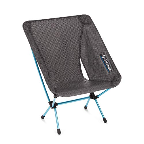 Helinox Chair Zero Ultralight Compact Camping Chair, Black