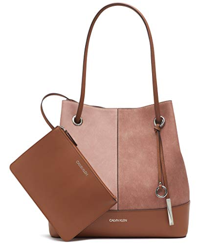 41je0lYIh8L High quality vegan leather Tote with removable interior wristlet pouch Casual yet fashionable tote that can hold books, laptops, cosmetics, keys, phones, & many other essentials