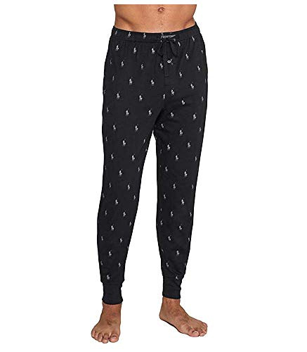 Polo Ralph Lauren Knit Jogger Lounge Pant, L, Polo Black