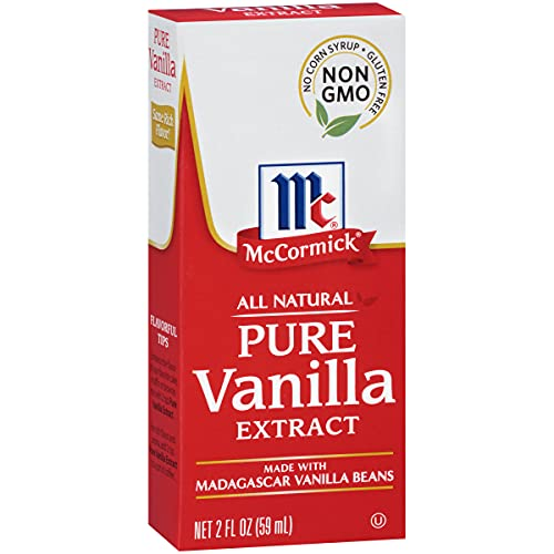 McCormick All Natural Pure Vanilla Extract, 2 Fl Oz (Pack of 1)
