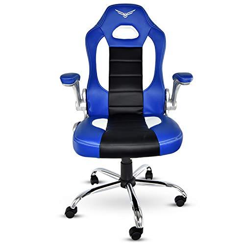 NACEB TECHNOLOGY NA-0908A Silla Gamer, Color Azul