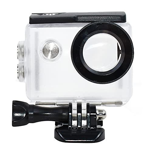 Tekcam - Custodia impermeabile subacquea per action camera Akaso EK7000/Eken H9R/Fitfort 4K/Dbpower EX5000Sport, protezione fino a 30 m di profondità
