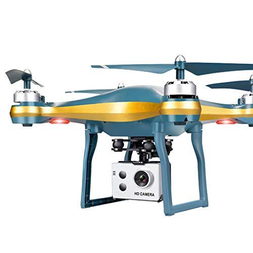 Sansee Drone con Telecamera 720P HD, Funzione di calibrazione del giroscopio a 6 assi, Quadricottero RC Azionato con Ritorno Posizionamento GPS, Modello di Ingresso per AdultO e Bambini