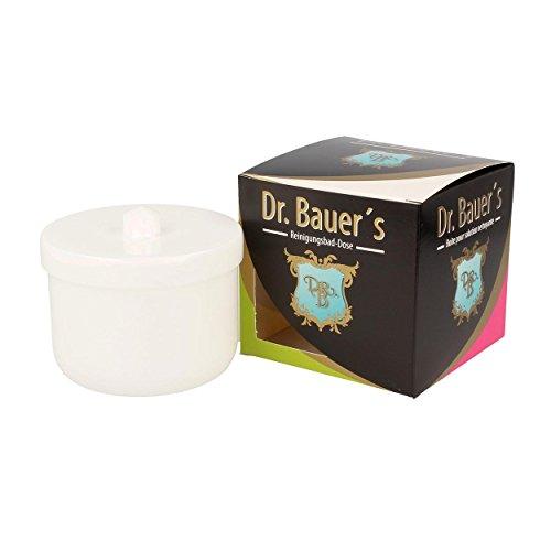 Dr. Bauer Contenitore per bagno di pulizia della dose con inserto klarspuel | protesi dentaria| La protesi pu bianco (1 pezzo)