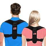 Posture Corrector For Men And Women - USA Patented Design - Adjustable Upper Back Brace For Clavicle Support...