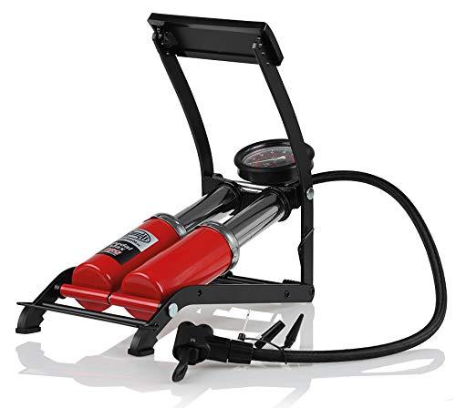 HEYNER 22500N Premium de 2Cilindro Bomba de pie con manómetro