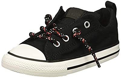 Low-top, slip-on canvas sneaker Padded collar and tongue for protection Non-marking outsole