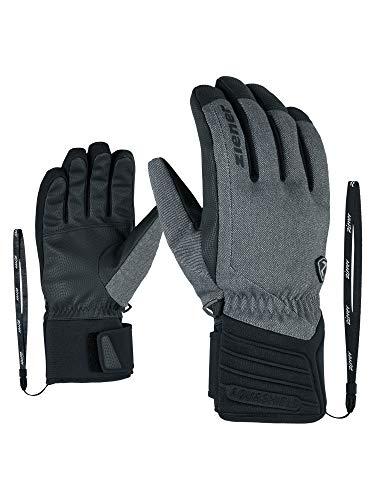 Ziener Erwachsene GRANY AS(R) Glove Alpine Ski-handschuhe, grey denim, 10.5 (XL)