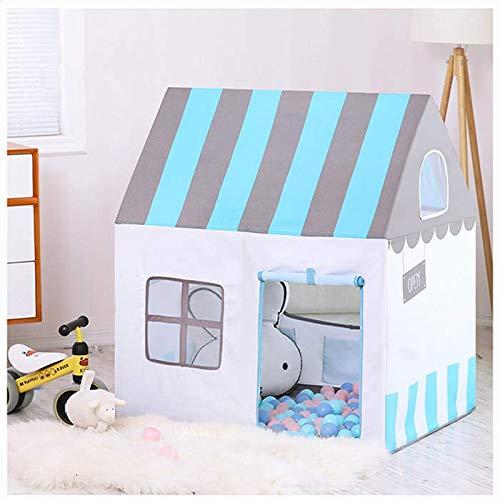 Beneyond Kinder-Tipi, Kinderzelt, Prinzessinschloss, Indoor, Outdoor, Babyspielzeughaus, Kinderspielhaus, Blau, Jungen und Mädchen