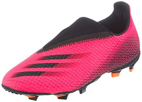 adidas X GHOSTED.3 LL FG J, Zapatillas de fútbol, ROSSHO/NEGBÁS/NARCHI, 38 EU