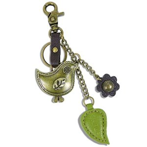 Chala Bronze Color Metal- Purse Charm, Key Fob, keychain decorative accessories