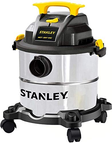 Stanley 5 Gallon Wet Dry Vacuum, 4 Peak HP...