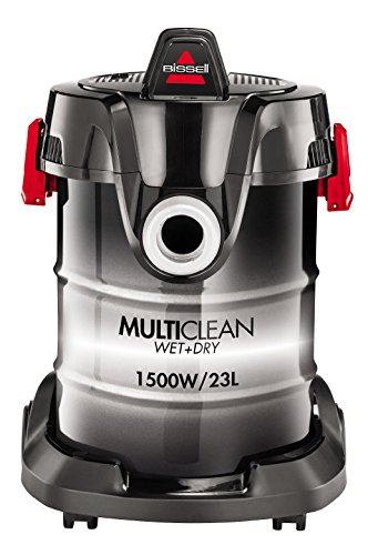 BISSELL MultiClean, Aspirapolvere Multifunzione Umido e Secco, Funzione Compressore, 23 L, 2026M