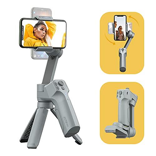 MOZA Mini-MX 3-Achsen-Gimbal-Stabilisator für Smartphones Vlog Youtuber Live-Videoaufnahme Faltbare Gimbal-Unterstützung Native Kamerasteuerung