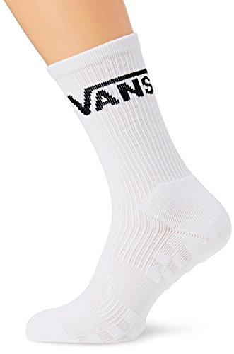 Vans Skate Crew (9.5-13, 1p) Calze, Bianco (White Wht), Taglia Unica Uomo