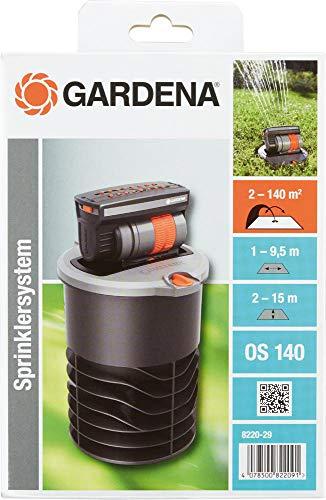 Gardena Versenk-Viereckregner, Mehreren Regnern kompatibel