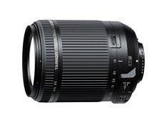 Tamron B018N - Objetivo para cámara Nikon (distancia focal 18-200mm, apertura f/3.5-6.3, estabilizador óptico), color negro
