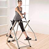 Foldable Air Walk Trainer Elliptical Machine Glider for Home Use | Home Gym Workout Cross Trainer |...