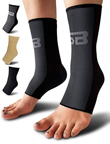 SB SOX Compression Ankle Brace (Pair) – Great Ankle Support That...