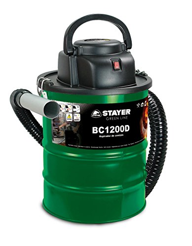 Stayer Bc 1200 D - Aspiratore Per Ceneri, Verde