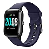LIFEBEE Smartwatch, Reloj Inteligente Impermeable IP68 para Hombre Mujer niños, Pulsera de Actividad Inteligente con Monitor de Sueño Contador de Caloría Pulsómetros Podómetro para Android iOS