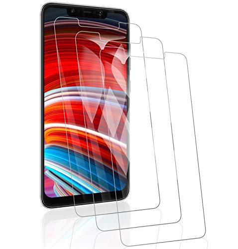RSSYTZ 3 Pack Protector de Pantalla para Xiaomi Pocophone F1