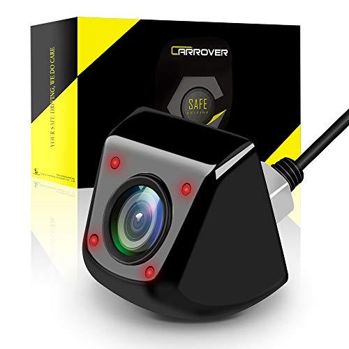 CAR ROVER Auto Telecamera Retromarcia con 4 LED a Infrarossi