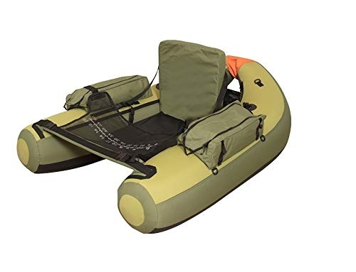 Wistar Inflatable Fishing Float Tube,with Big Storage Side Bags.Loading Capacity 350lbs