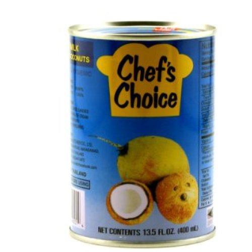Chef's Choice Coconut Milk 13.5oz (400ml), 6 Pack
