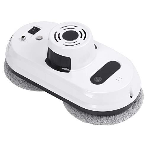 Robot nettoyeur de vitres,robot nettoyeur de vitres intelligent automatique avec télécommande infrarouge,détection des bords,sécurité multiple Système,télécommande pour lave-vitres intérieur/extér(je)