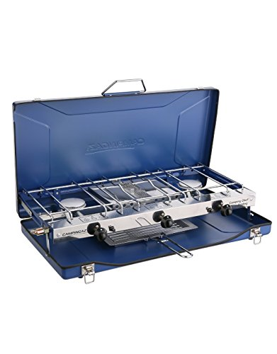 Campingaz - Set Pieghevole di griglia e fornelli, Blu