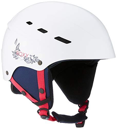 Roxy Ollie - Casco da Sci e Snowboard da Donna, Donna, ERJTL03043, Bianco, M/L