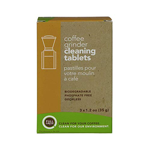Capresso 560.04 Infinity Conical Burr Coffee Grinder with Urnex Full Circle Biodegradable Cleaning Tablets (2 Items) 3